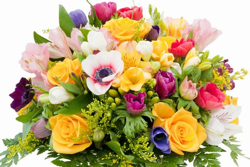 С днем рождения картинки цветы